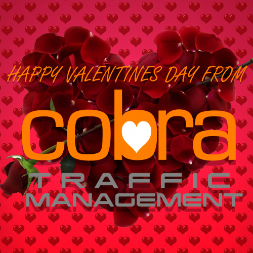 Happy Valentines day from Cobra Traffic management
